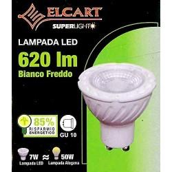 Lampada led GU10 620lm 7W...