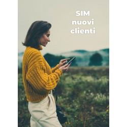 SIM Tiscali per nuovi clienti