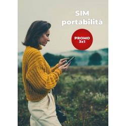 Promo SIM Tiscali 3x1