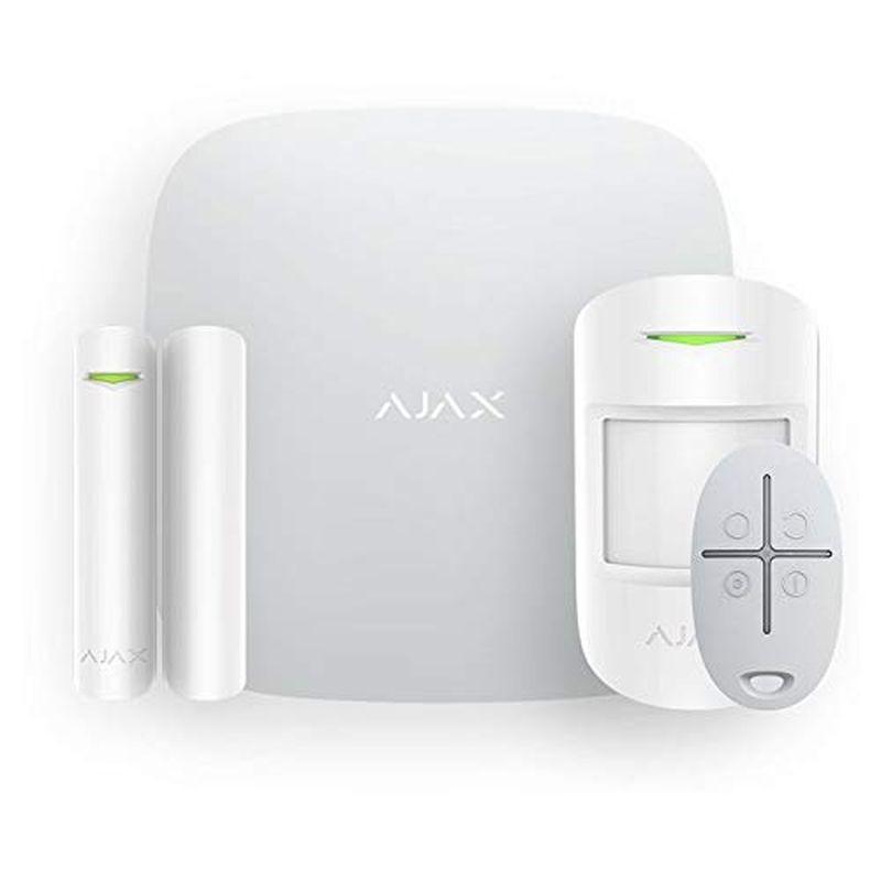 Ajax Hub Kit Plus - Sistema di allarme wireless Wi-Fi